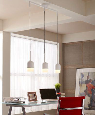 Mezzo 3 light suspension details lbl lighting