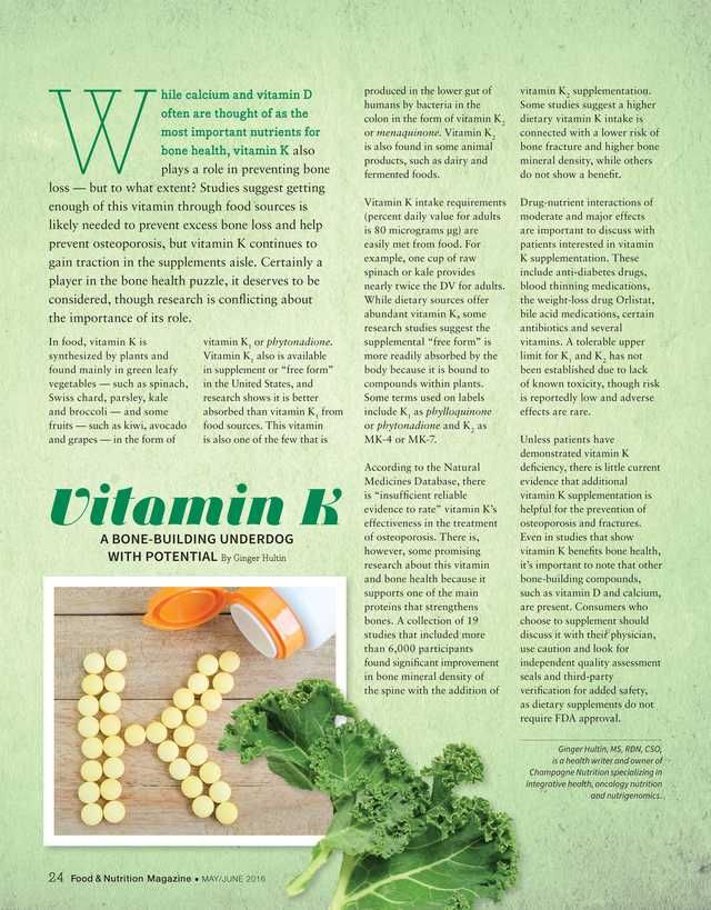 Food & Nutrition Magazine - May/June 2016 - Page 24-25