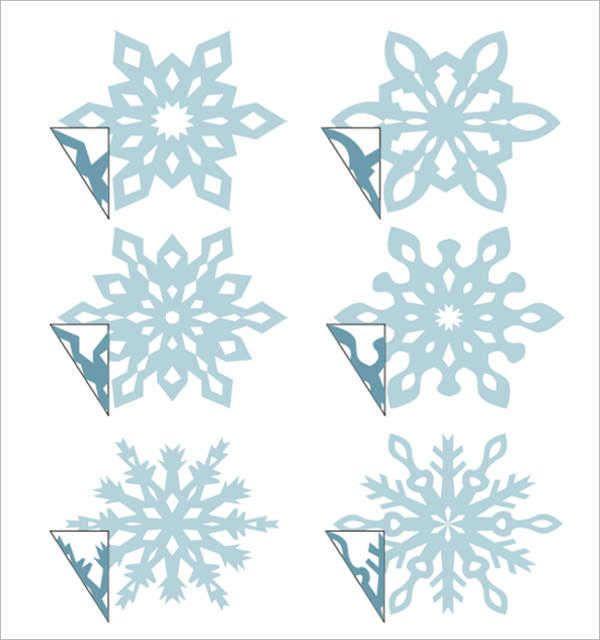 3d Snowflake Template Snowflake Template Paper Snowflake Template Paper Snowflake Patterns