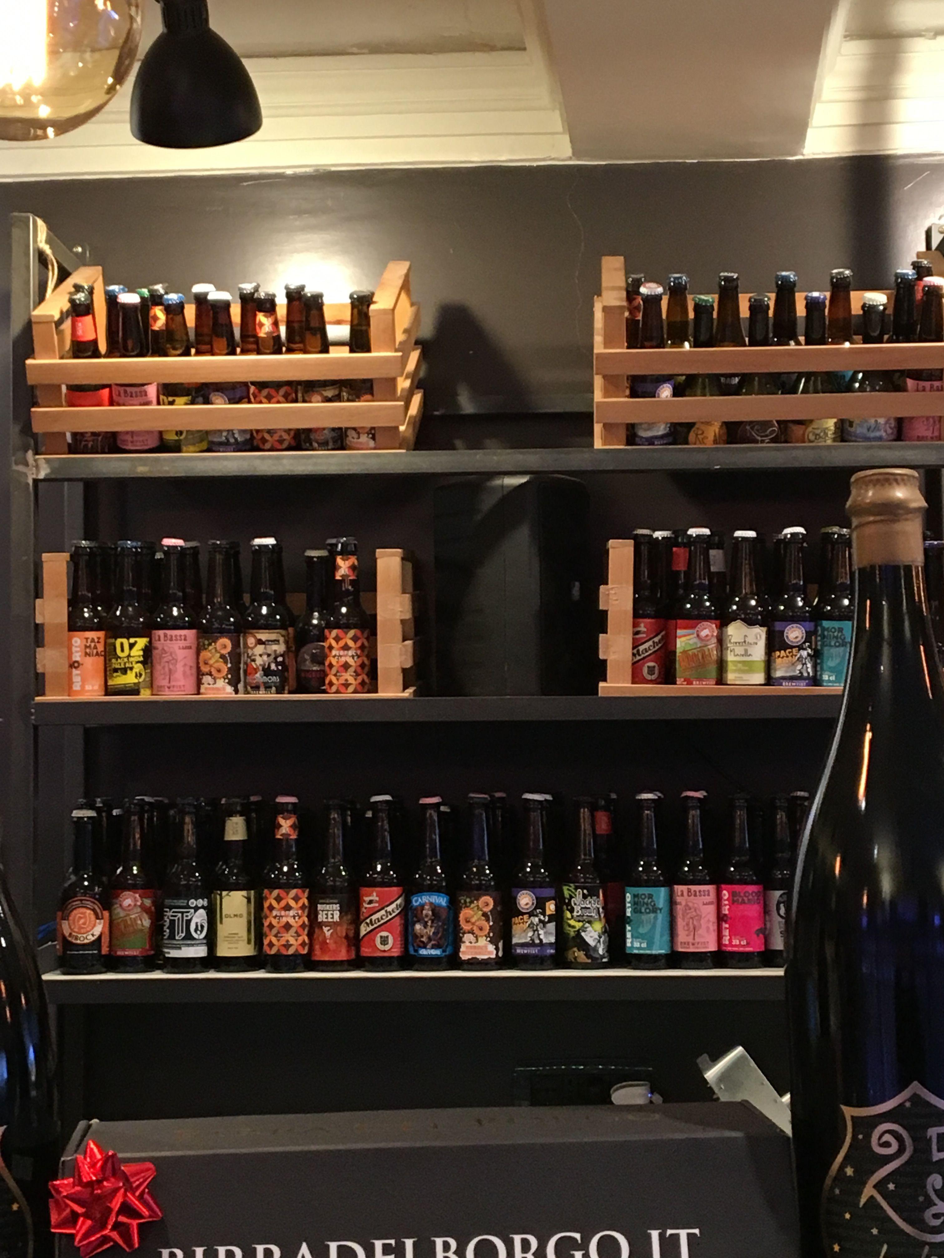 birre artigianali da birra & sale | Liquor cabinet, Cafe ...