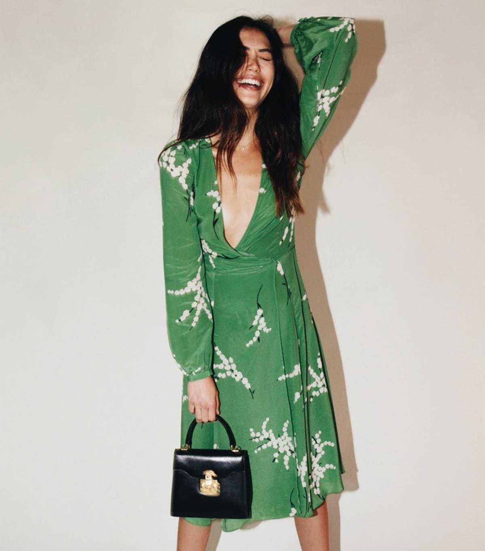 green dress for wedding guest uk