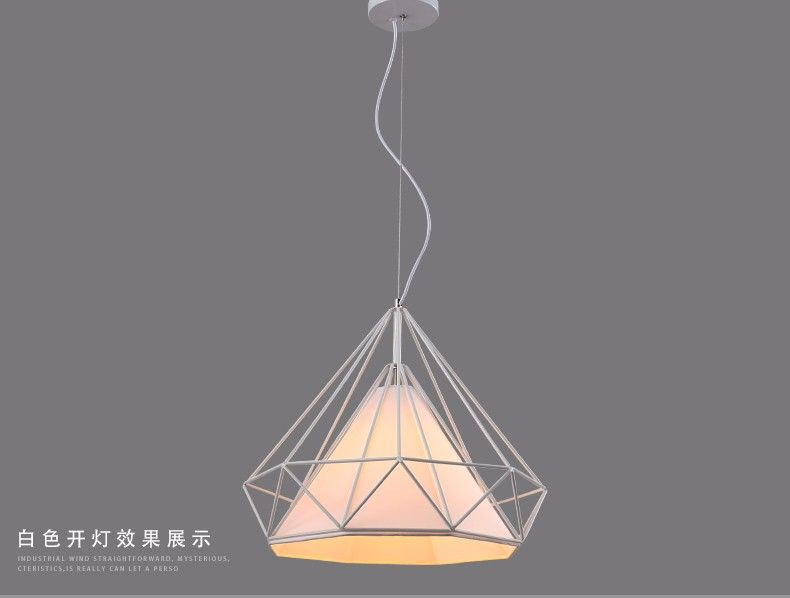 Cheap Lamp Shades Classy Diamond Pendant Lamp Shade 6  Lighting  Pinterest  Led Kitchen Design Decoration