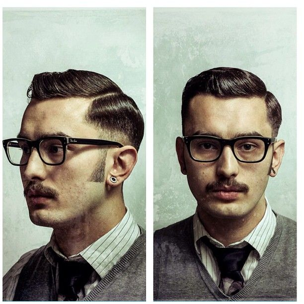 19 College Hairstyles For Guys: Executive Contour