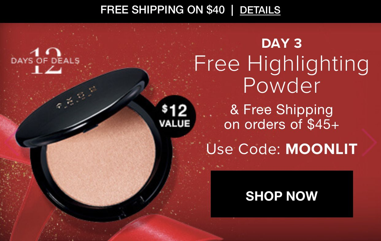 Get A Free Highlighter And Free Shipping When You Spend 45 Online At Www Youravon Com Selenaking Highlighter Coding Free Shipping