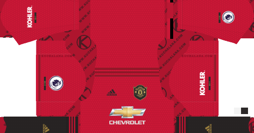 Pin On Manchester United Home Kit
