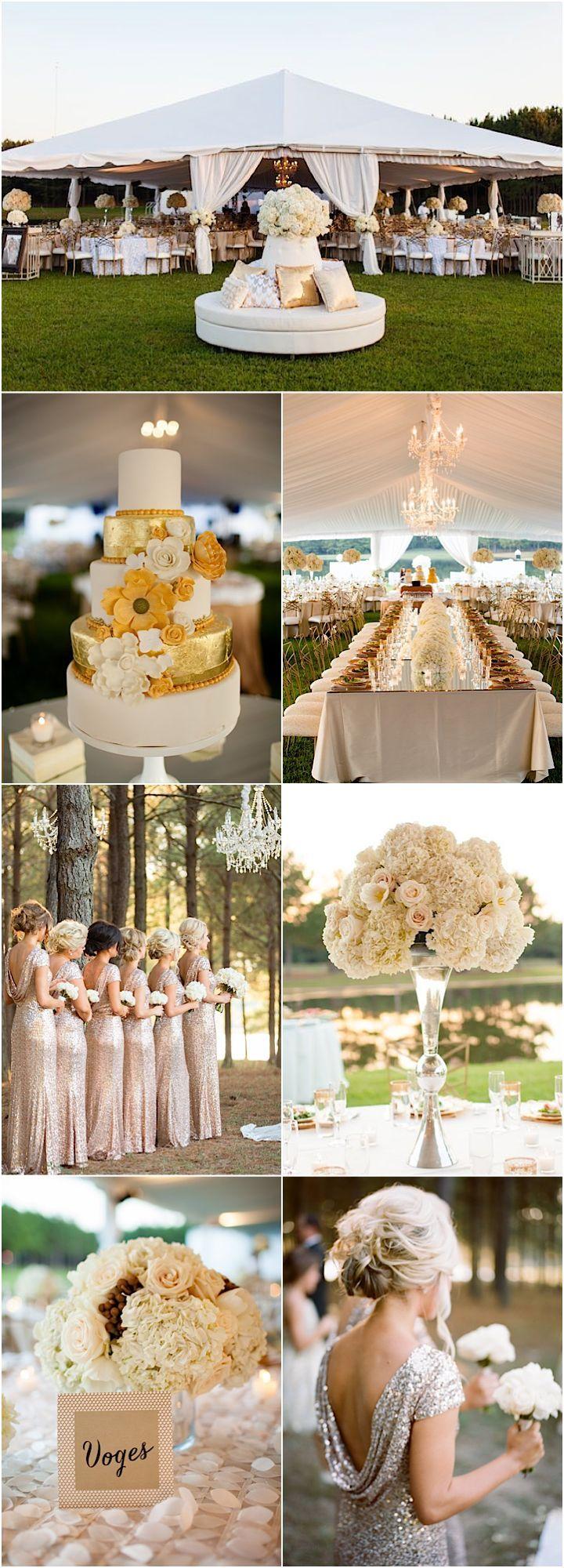 Featured Photographer: Archetype Studios; gorgeous wedding reception details