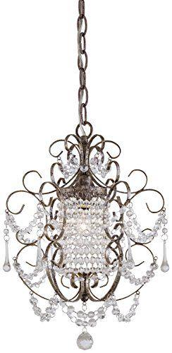 Minka Lavery 3121 333, 1  Light Mini Chandelier, Westport Silver