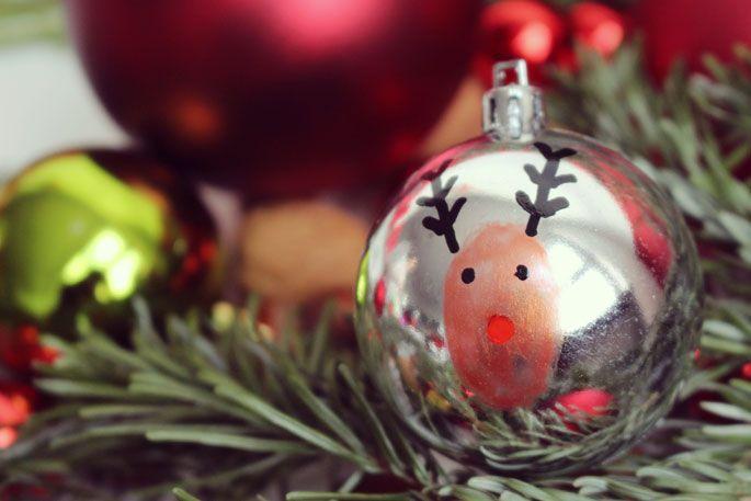 23 Weihnachtskugeln Beschriften Bemalen Ideen 8