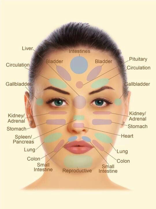 Face Reflexology I almost always have a cold nose, could ...