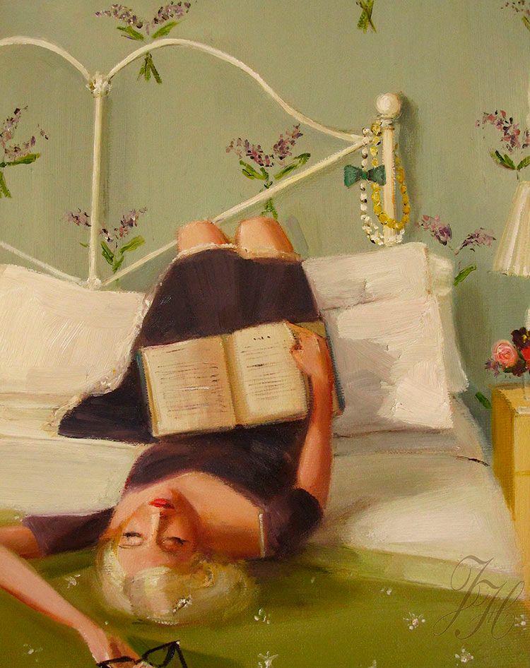 Художник: Janet Hill.  #книги #чтение #books #reading #book #книга #искусство #art #картины #творчество #readingcomua #художник #libros #книголюб #lectura #красиво