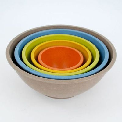 Eco Friendly Nesting Bowl Set And In Our New Kitchen Colors Mixing Bowls Set Mixing Bowls Bowl