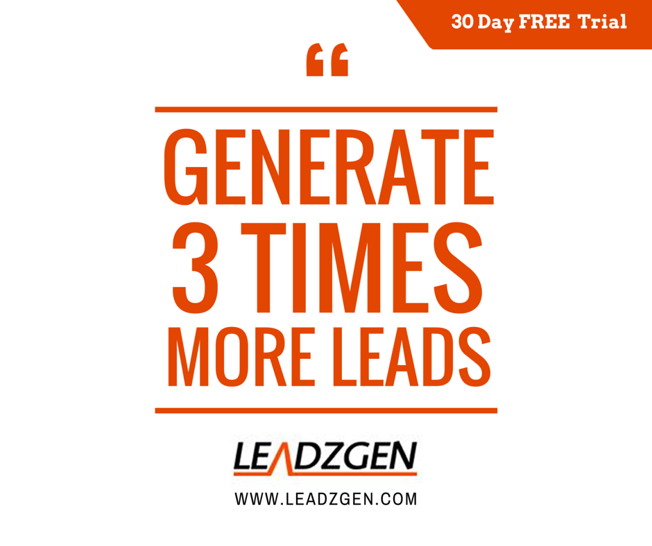 Generate more B2B leads with LeadzGen  World's leading Lead