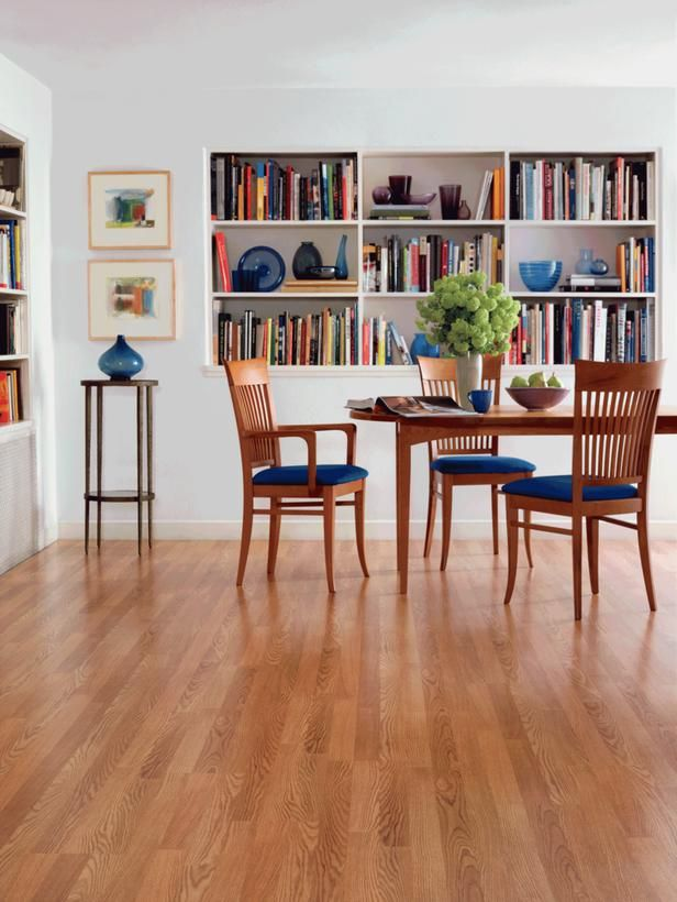 Dining Room Flooring If Attached To Kitchen Simply Extend Into DR
