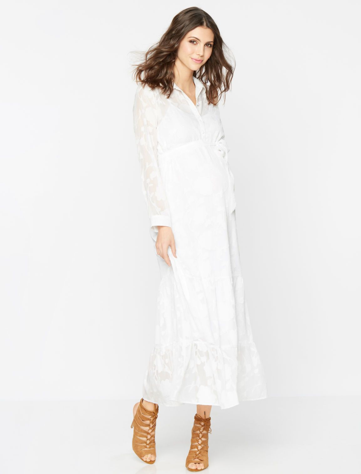 A pea in the pod long sleeve burnout maternity dress maternity a pea in the pod long sleeve burnout maternity dress ombrellifo Gallery
