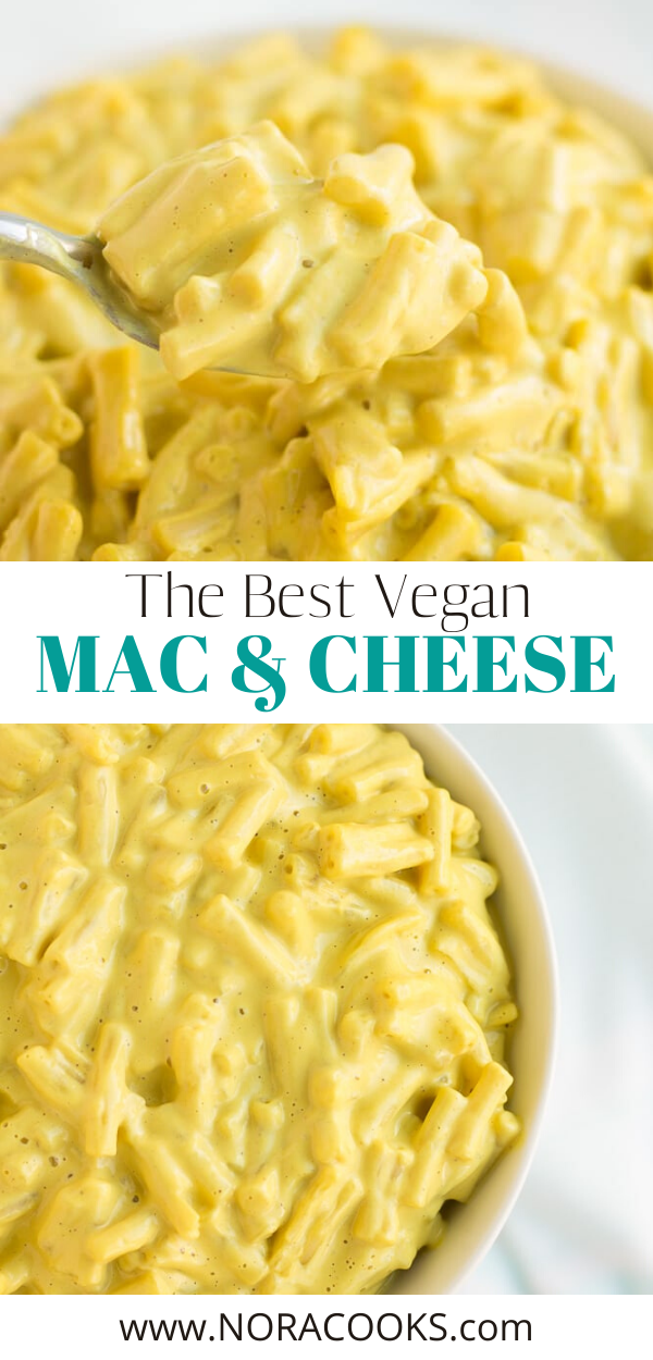 The Best Vegan Mac And Cheese Nora Cooks In 2020 Vegan Mac And Cheese Dairy Free Mac And Cheese Vegan Pasta Dish
