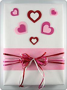 Valentine S Day Gift Wrap Vanentines Crafts Ideas Pinterest