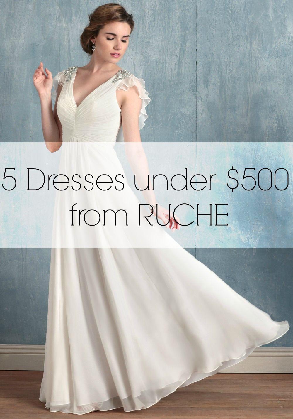 Wedding dress under 500  Wedding Dresses for Under  Dollars  Wedding Dresses for the