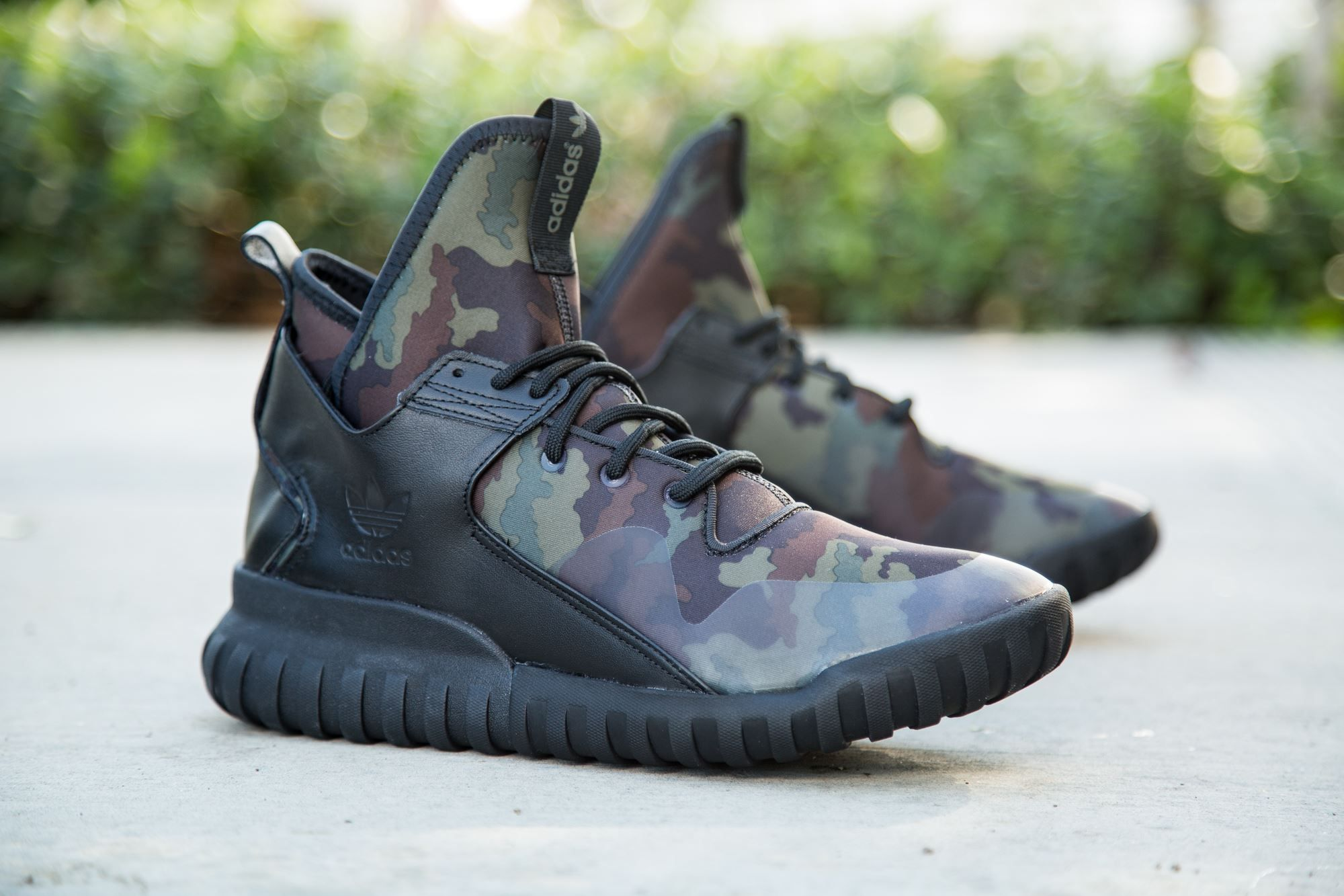 adidas Originals Tubular X: Woodland Camo