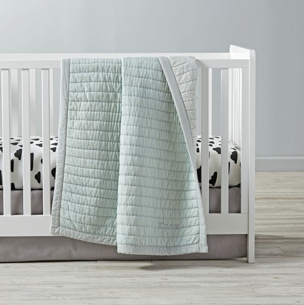 Cotton Candy Baby Quilt (Mint)   Cotton candy, Nursery and Babies
