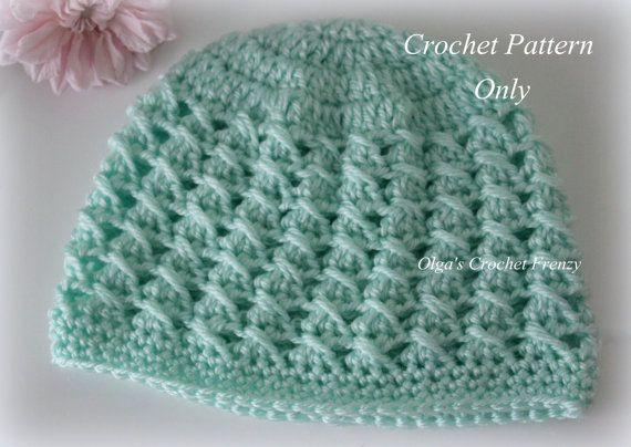 Crossed Dcs Baby Hat Crochet Pattern Size 3 6 Months Easy To Make