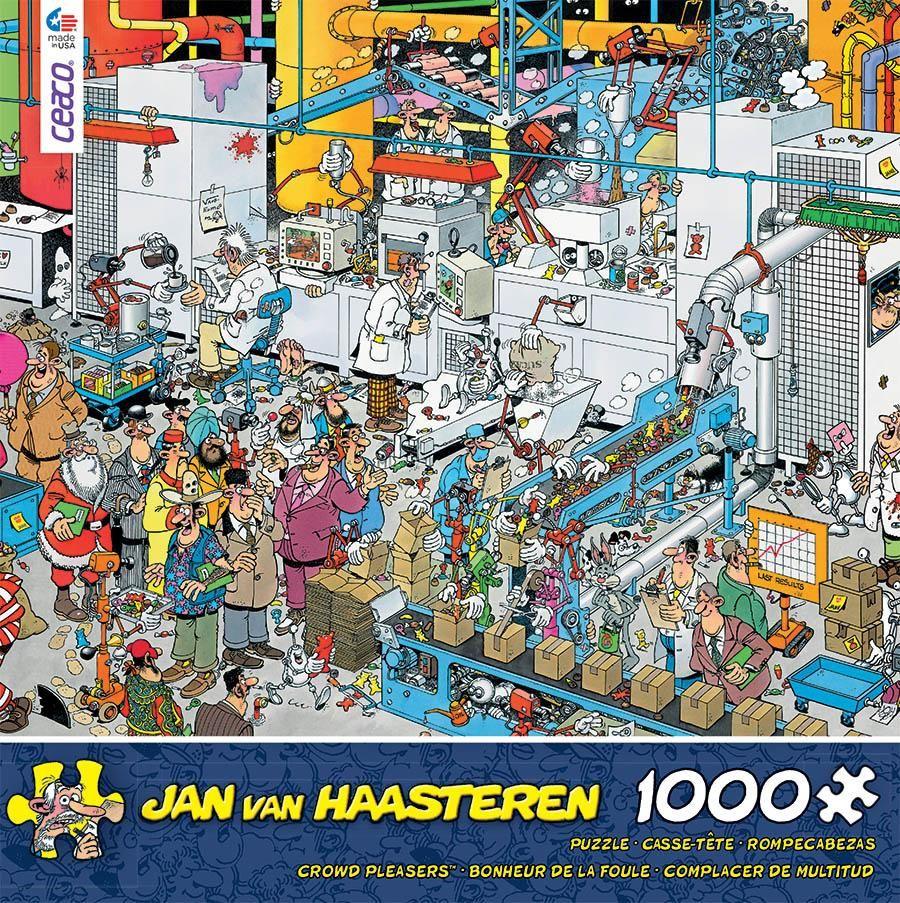 Jan Van Haasteren Candy Factory 1000 Piece Puzzle Candy Factory Jigsaw Puzzles Puzzles Gifts