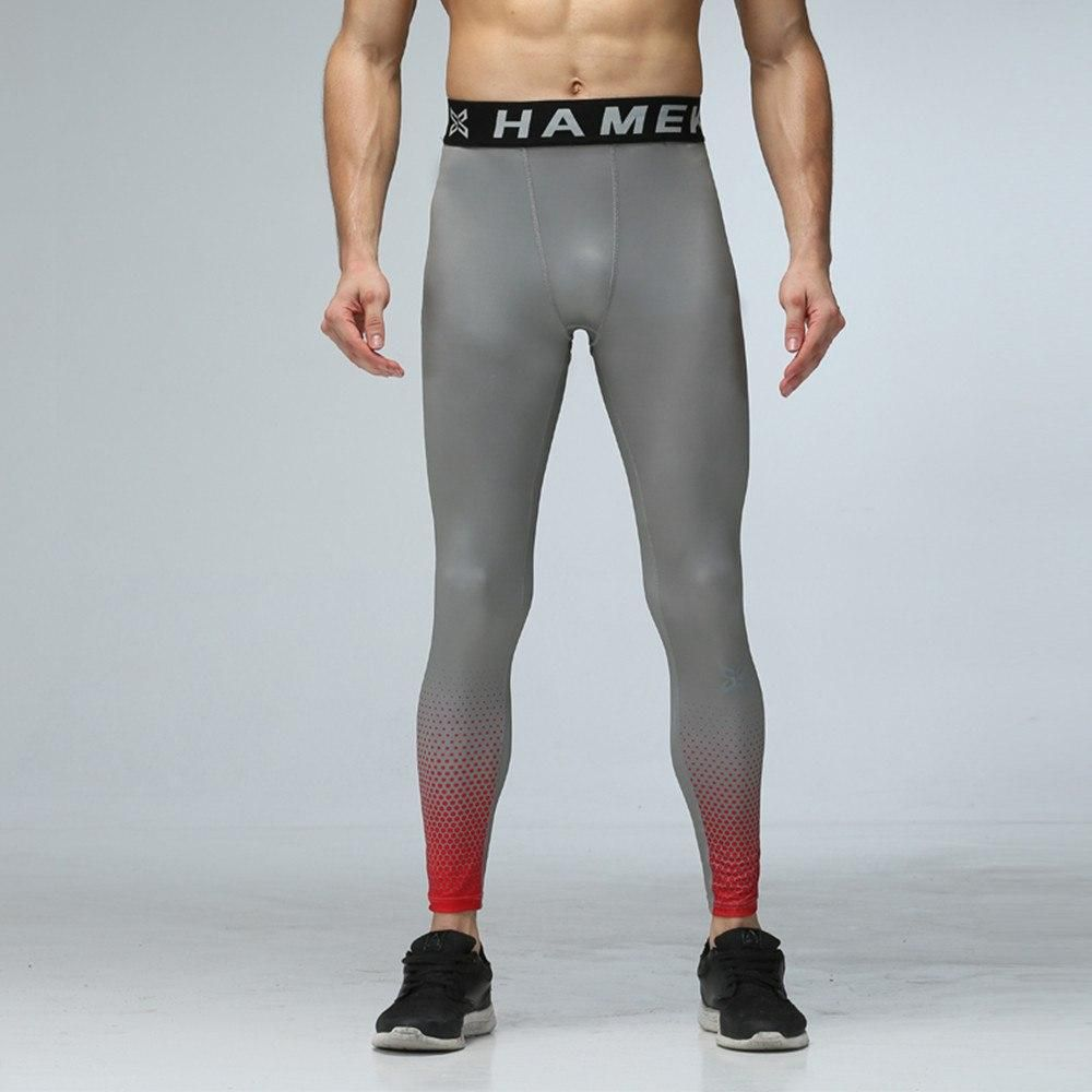 6d5becc1fb7117 New Men Compression Base Layer Running Tights Pants Jogging Soccer Training  Pant Sports GYM Fitness Basketball