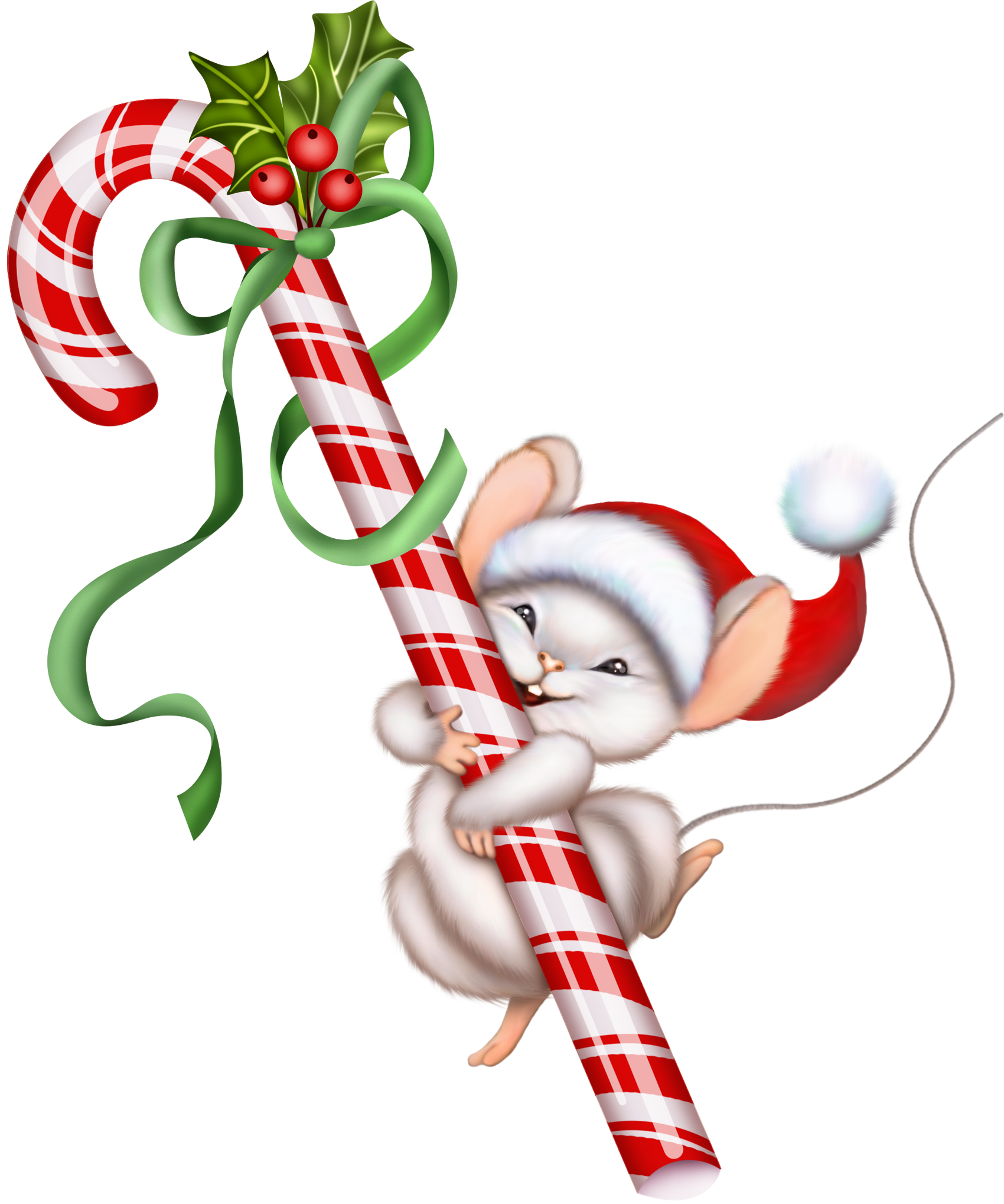 Christmas Candy Cane and Mouse PNG Clipart | Graphics | Pinterest ...