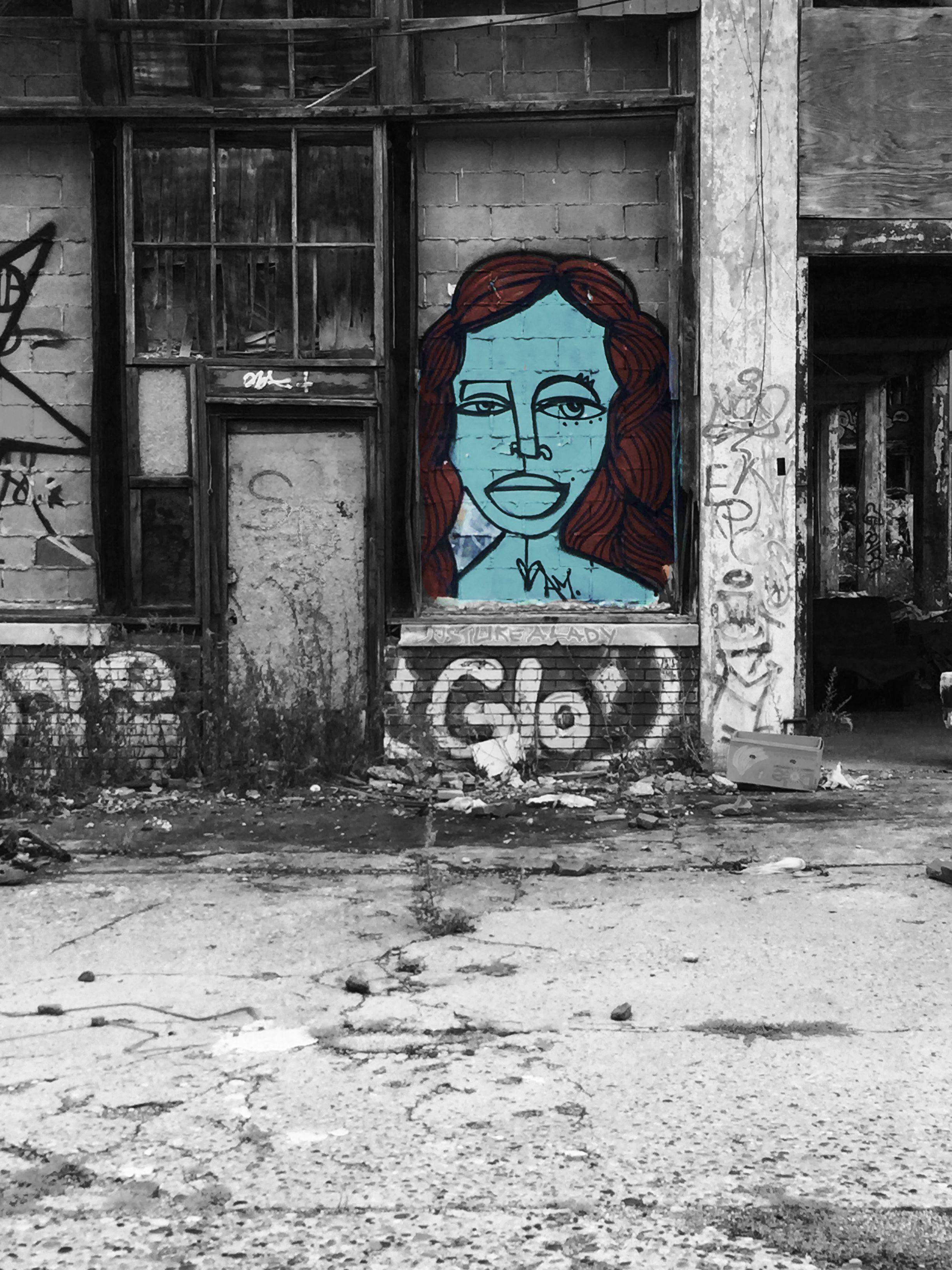 Graffiti packard manufacturing plant detroit mi snapshots from my
