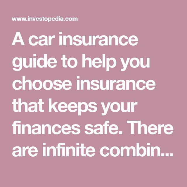 Guide To Car Insurance Car Insurance Make Easy Money Insurance