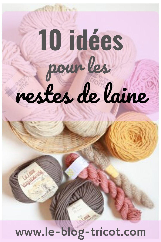 10 Idees Pour Les Restes Modeles De Tricot Pour Debutants Tricot Avec Reste De Laine Diy Tricotin