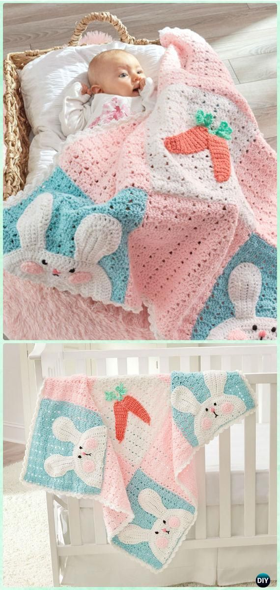 Crochet kids easter gifts free patterns bunny blanket free crochet kids easter gifts free patterns negle Gallery