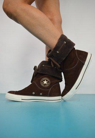 converse fleece boots