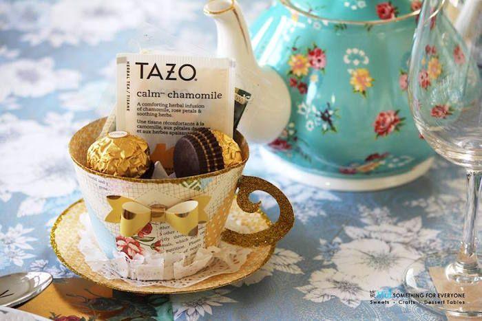 Baby Shower Tea Party Tea Party Pinterest Paper Tea Cups Baby