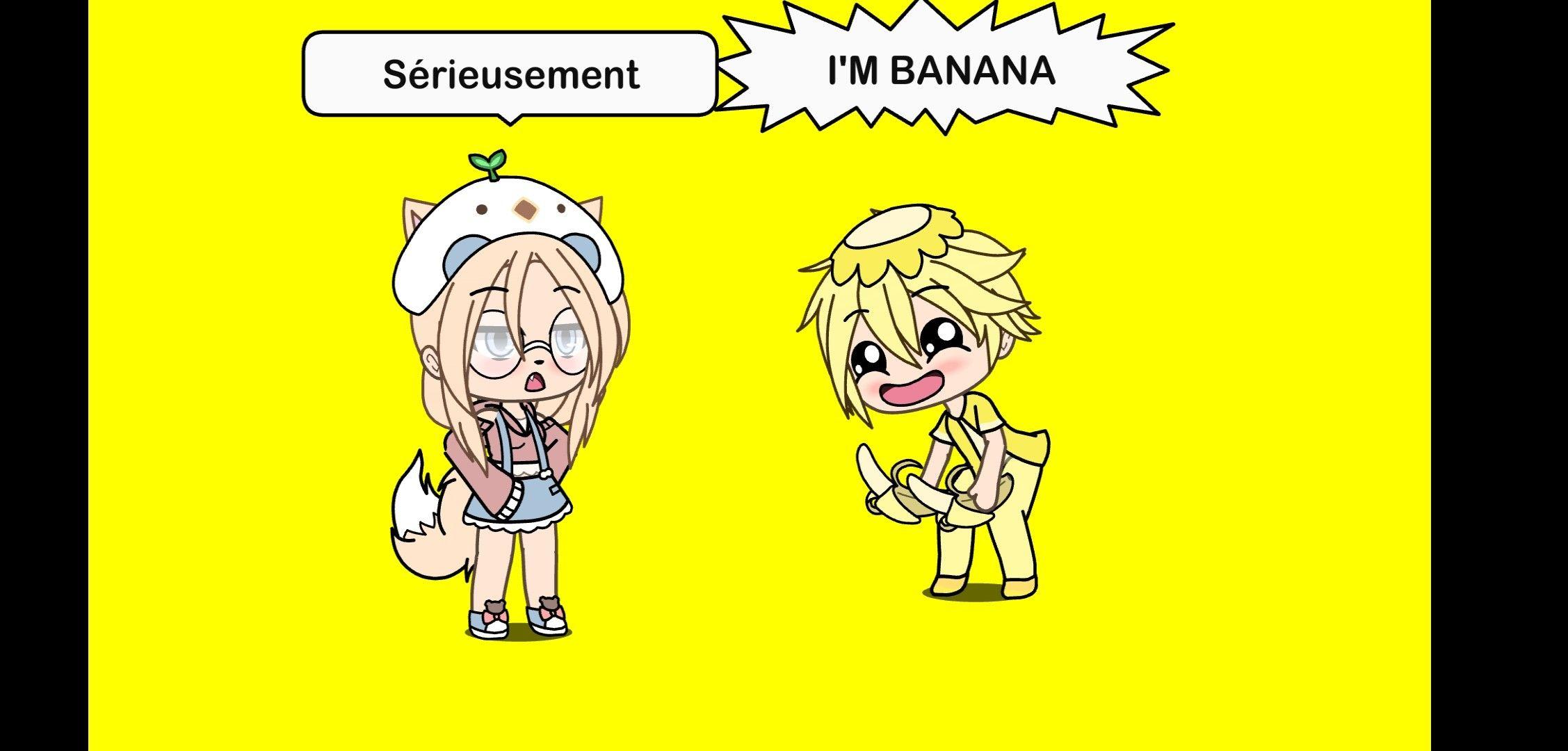 Pin By Miky On 3 Gacha Life 3 Banana Life My Life