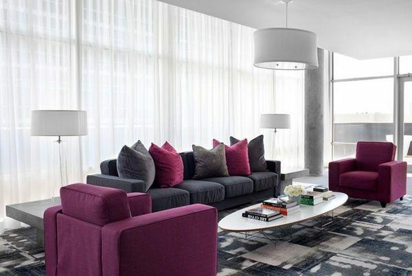 wohnzimmer braun flieder ~ kreative deko-ideen und innenarchitektur - Wohnzimmer Flieder Grau