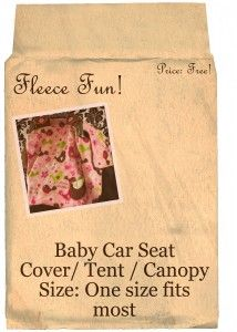 Free Baby Car Seat Canopy Pattern / Tent / Cover How To  sc 1 st  Pinterest & Free Baby Car Seat Canopy Pattern / Tent / Cover How To | Free ...