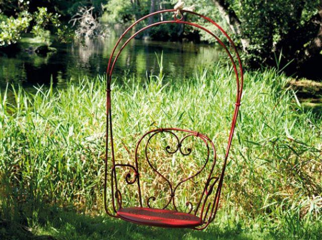 Fermob #Idee #deco #balancelle #fer #forge Muebles de jardín