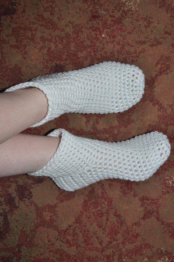 Crocheted Slipper Socks PDF | chochet | Pinterest | Socken häkeln ...