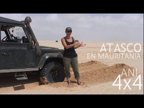 4x4 Atascado En Salar De Bancd Arguin En Mauritania Consejos De Viaje Ani4x4 Land Rover Defender Land Rover 4x4