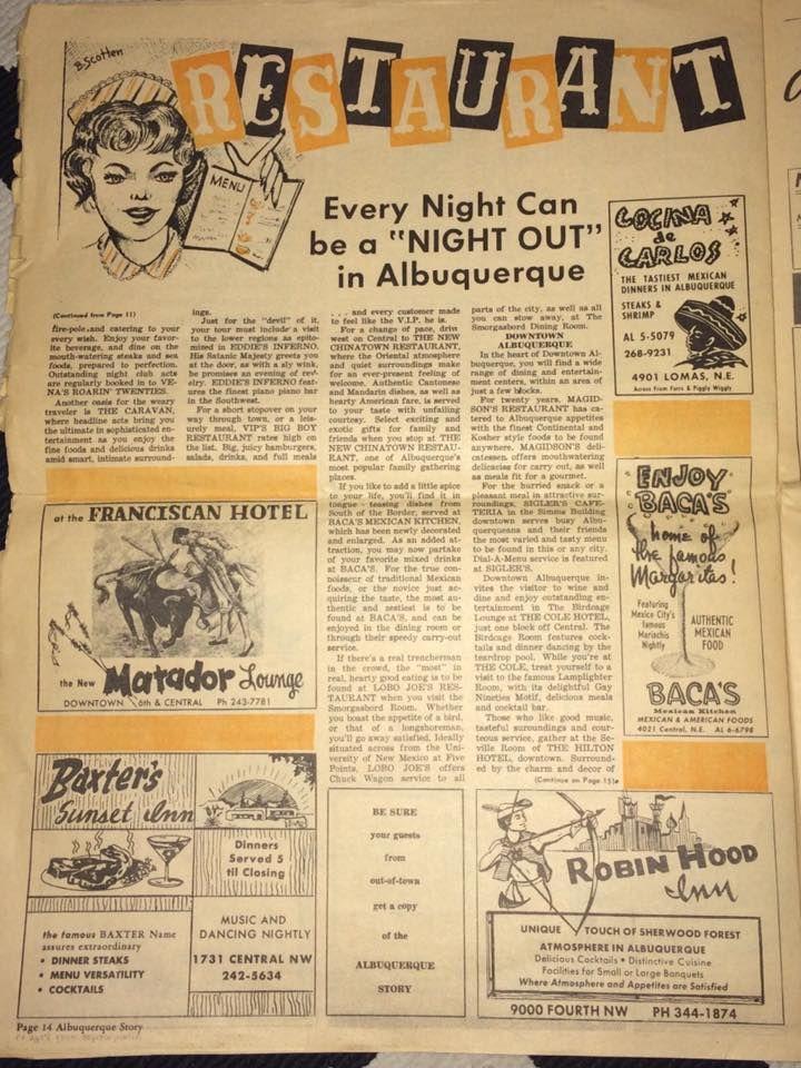 Albuquerque Restaurant Guide