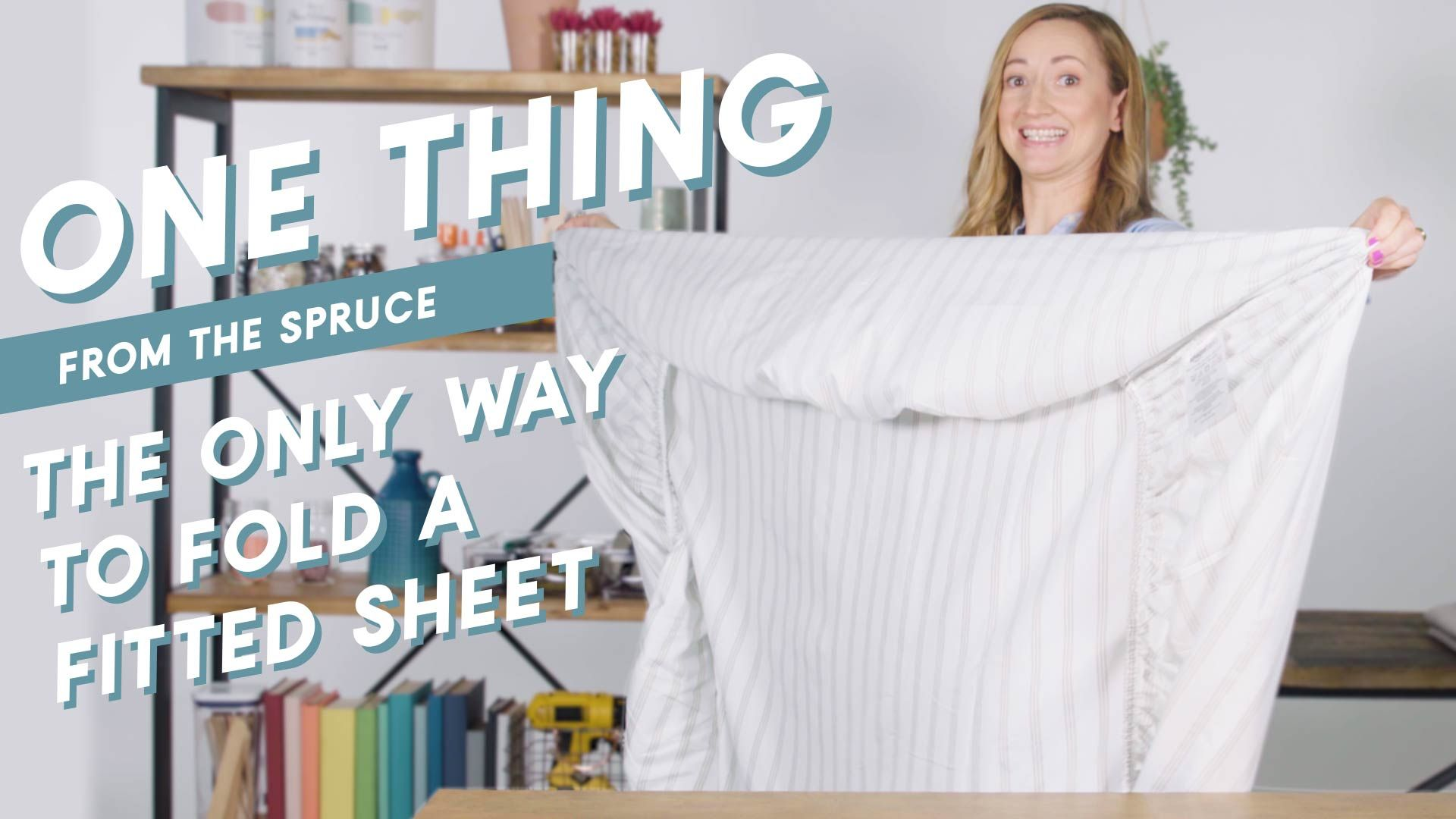 Finally! Learn How To Fold a Fitted Sheet