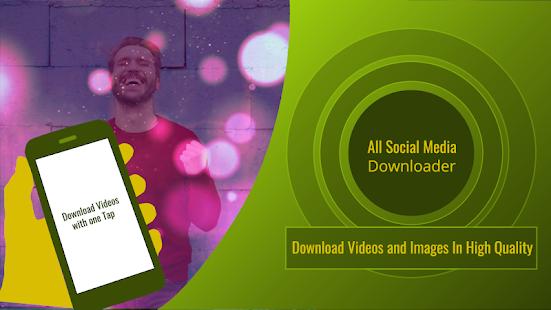 Vedio Downloader Video Downloader App Social Media Apps App