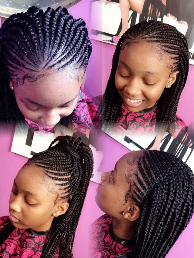 The Black African Hairtstyles Are Now Popular And You Can See Nearly At Every The Vary African Braids Hairstyles Kids Hairstyles Black Girl Braided Hairstyles
