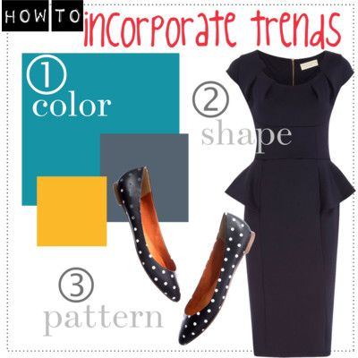 """Answering the reader question """"Do I have to pay attention to fashion trends?"""" -- here's how to incorporate trends into your wardrobe. http://www.franticbutfabulous.com/2012/09/25/reader-question-do-i-have-to-pay-attention-to-fashion-trends/"""
