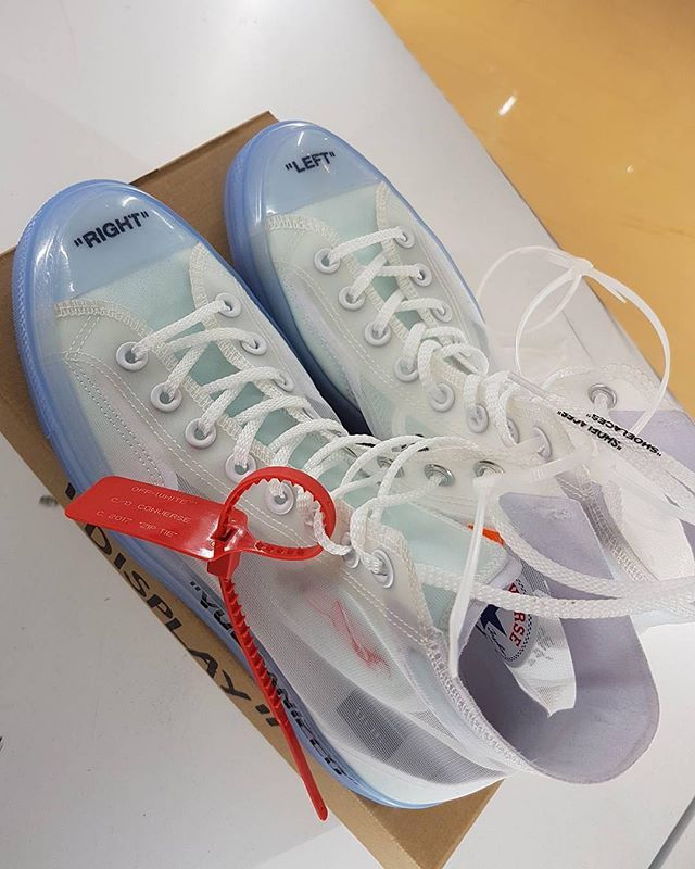 Off-White x Converse rumoured to drop