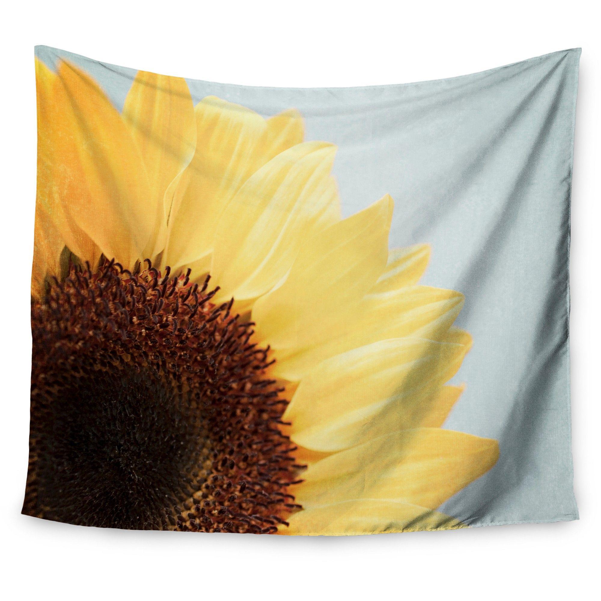 Sunflower Susannah Tucker Sunshine Wall Tapestry (51\