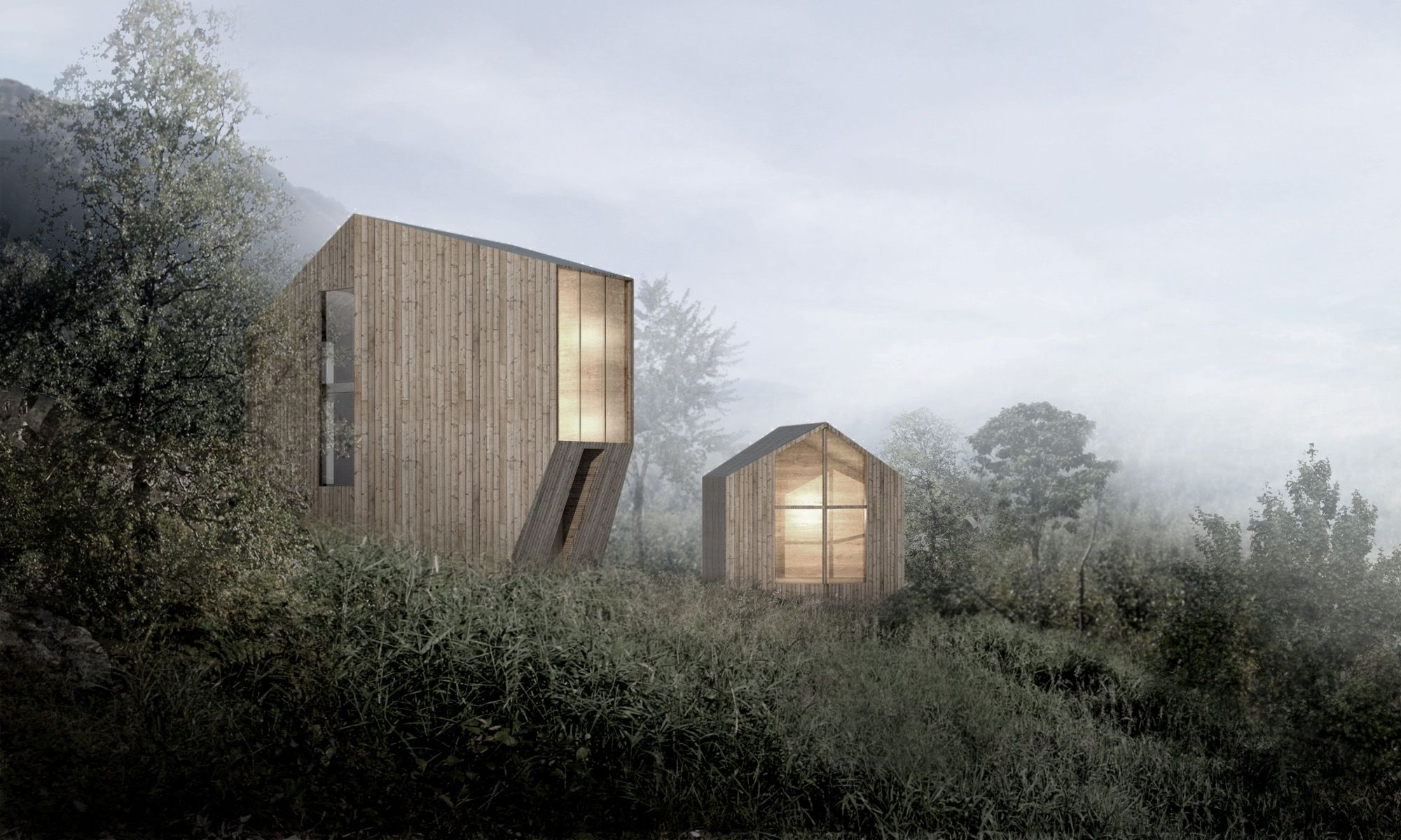 haus p allg u mountain home by studio yonder cabins i peterssen keller architecture pinterest. Black Bedroom Furniture Sets. Home Design Ideas