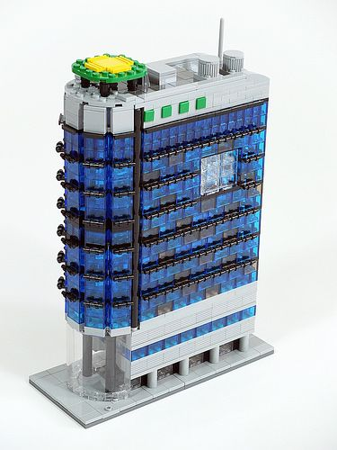 Lego Mocs Micro ~ Dong-a building | by bigcrown85