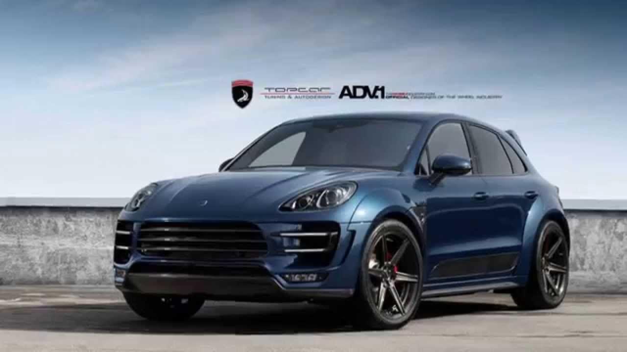 Dark Blue Porsche Macan By Topcar Porsche Cars Porsche Macan