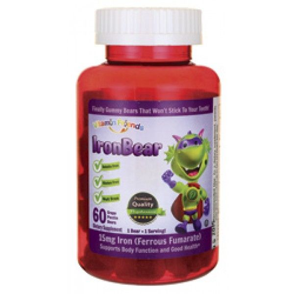 gummy iron supplements for adults